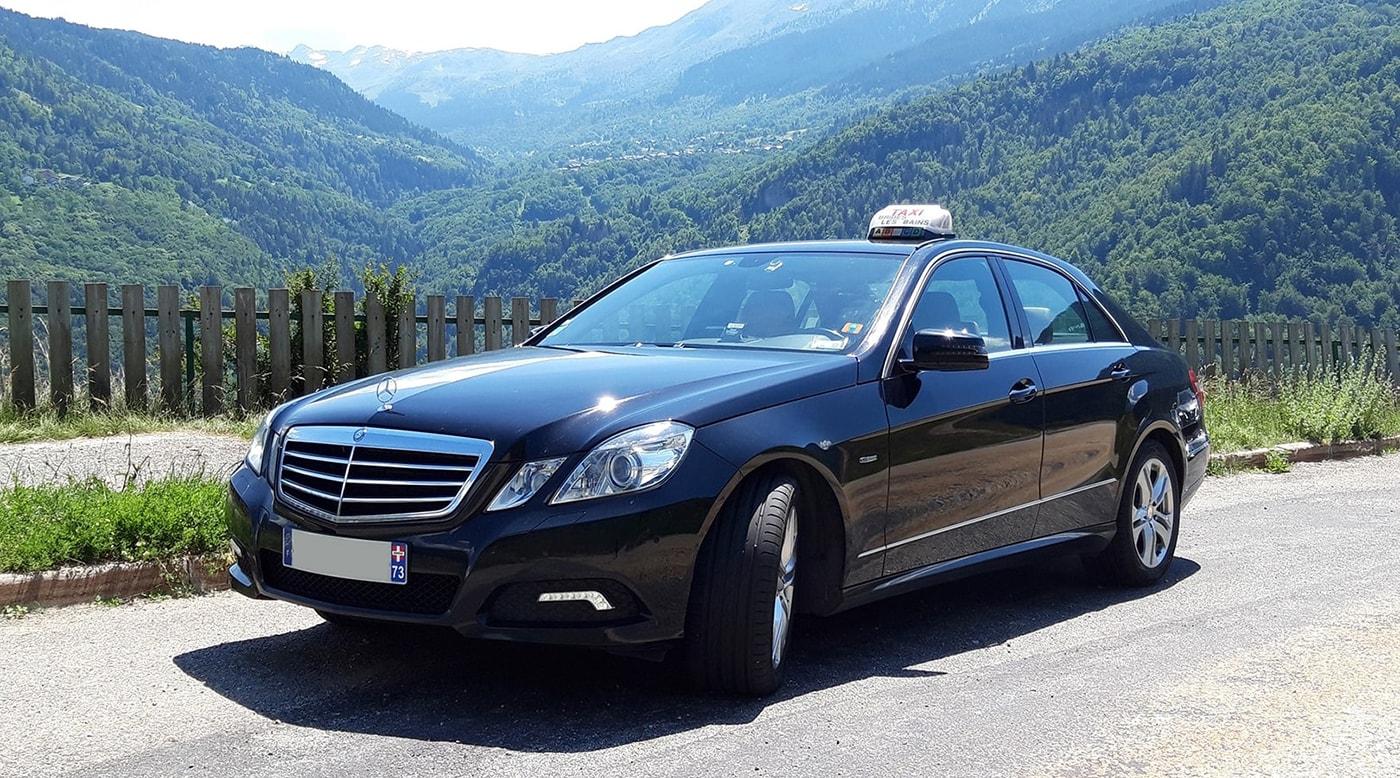Taxi Moutiers Brides-les-Bains Savoie