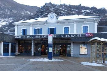 Transport haut-de-gamme et personnalisé en Taxi à la gare de Moutiers- Salins-Brides-Les-Bains